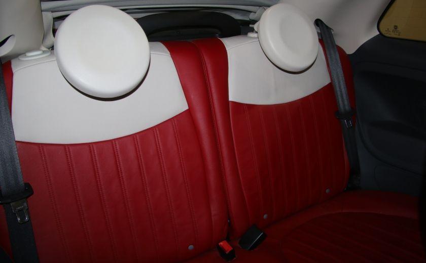 2013 Fiat 500 Lounge AUTOMATIQUE A/C MAGS BLUETHOOT CUIR #20
