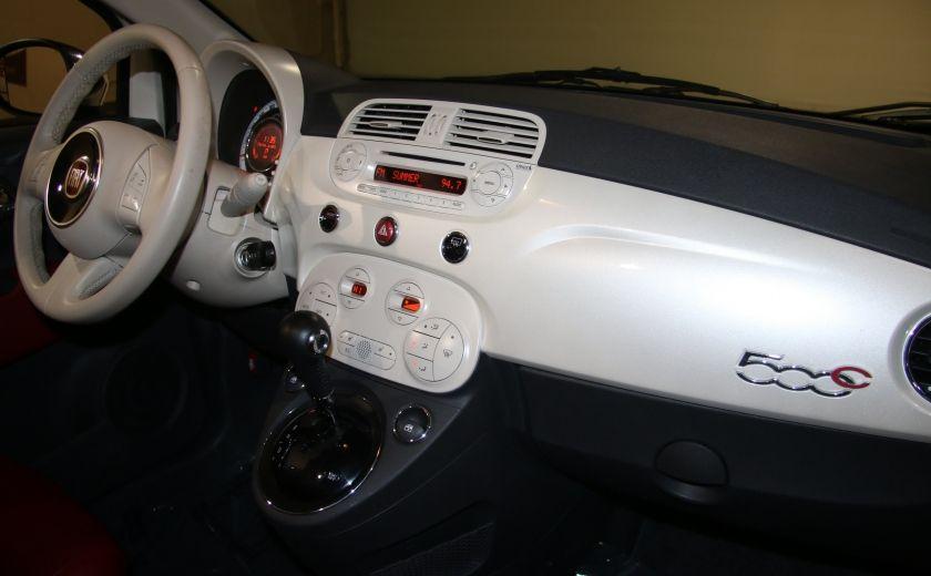 2013 Fiat 500 Lounge AUTOMATIQUE A/C MAGS BLUETHOOT CUIR #21