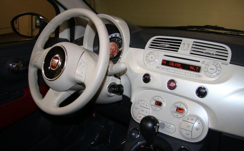2013 Fiat 500 Lounge AUTOMATIQUE A/C MAGS BLUETHOOT CUIR #22