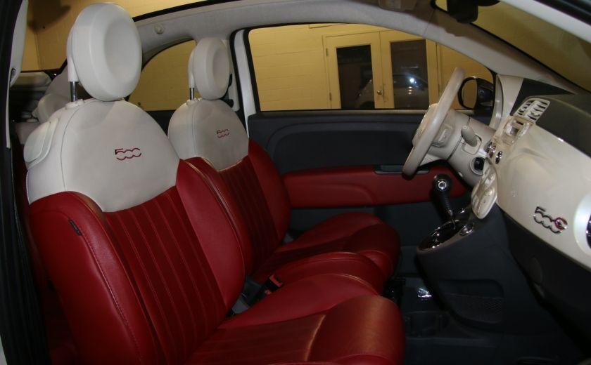 2013 Fiat 500 Lounge AUTOMATIQUE A/C MAGS BLUETHOOT CUIR #23