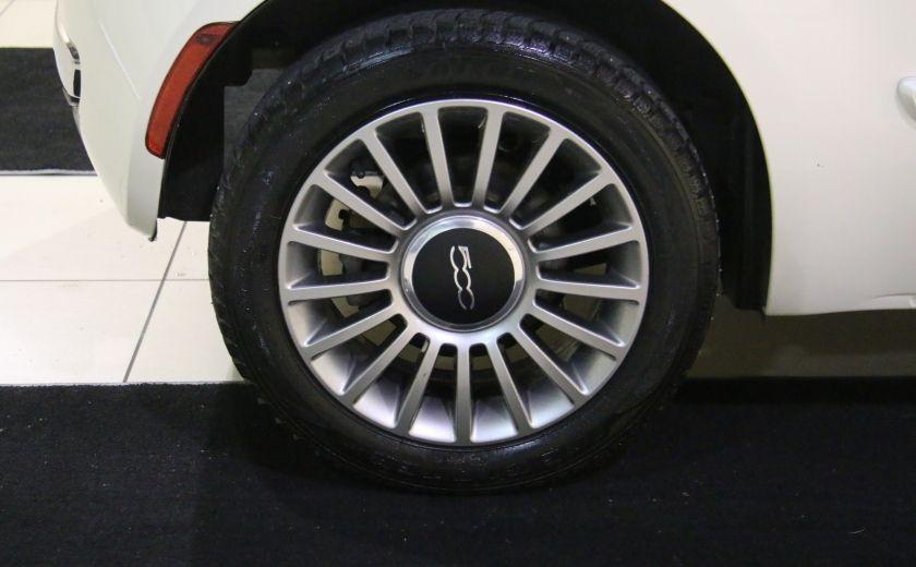 2013 Fiat 500 Lounge AUTOMATIQUE A/C MAGS BLUETHOOT CUIR #28
