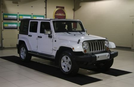 2012 Jeep Wrangler Sahara 4WD AUTO A/C 2TOITS CUIR in Victoriaville