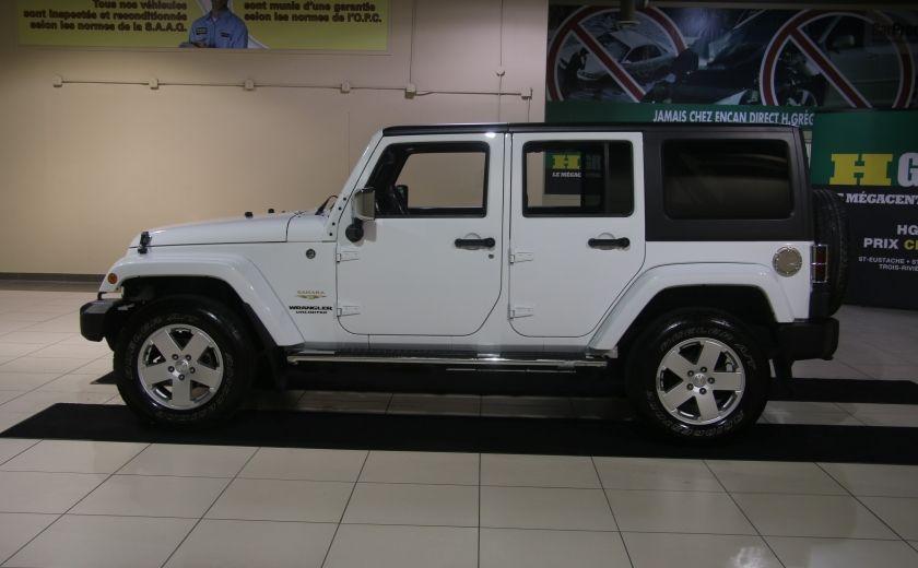 2012 Jeep Wrangler Sahara 4WD AUTO A/C 2TOITS MAGS #1