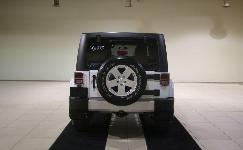 2012 Jeep Wrangler Sahara 4WD AUTO A/C 2TOITS CUIR #2