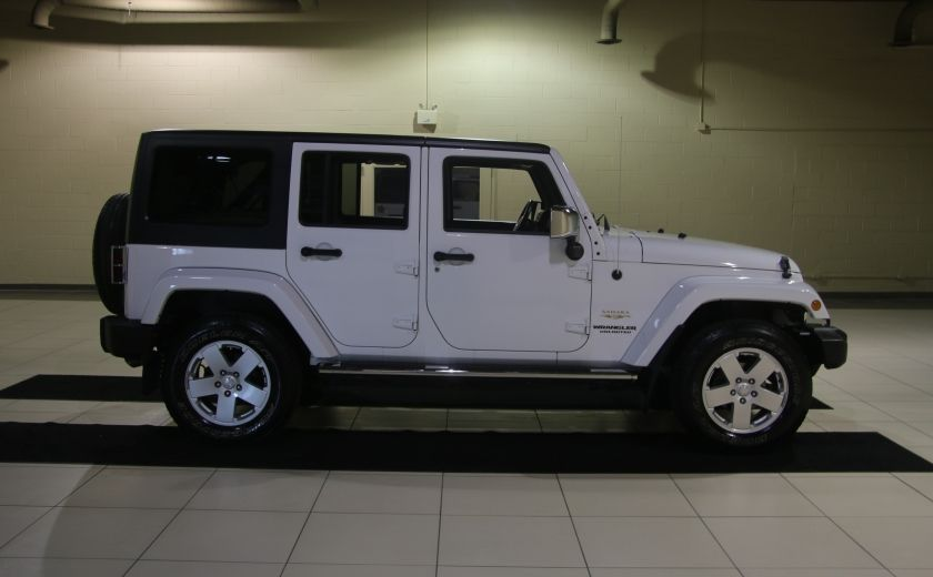 2012 Jeep Wrangler Sahara 4WD AUTO A/C 2TOITS MAGS #3