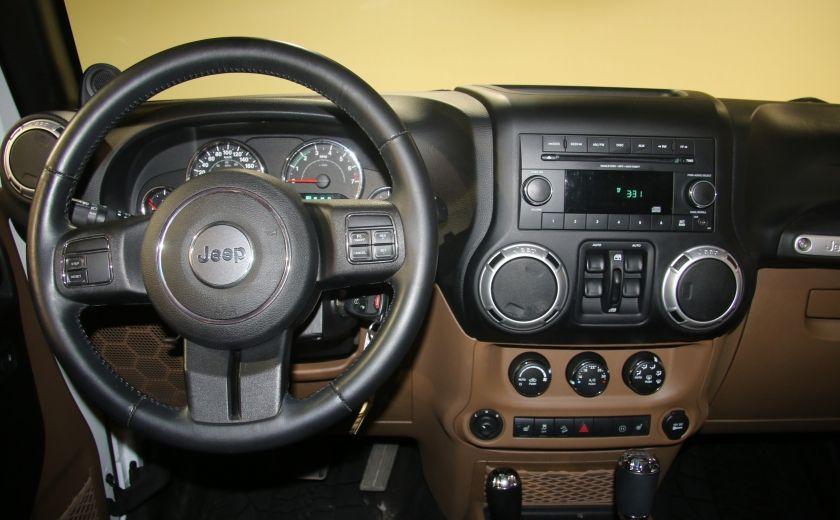 2012 Jeep Wrangler Sahara 4WD AUTO A/C 2TOITS CUIR #6