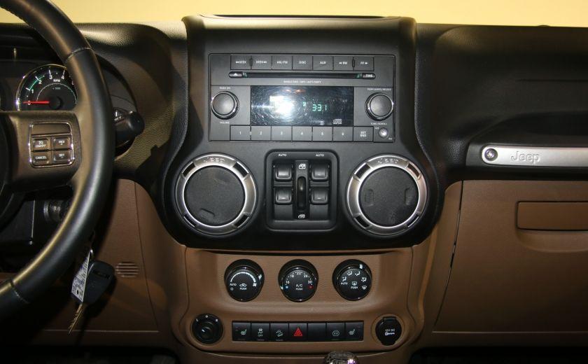 2012 Jeep Wrangler Sahara 4WD AUTO A/C 2TOITS CUIR #8