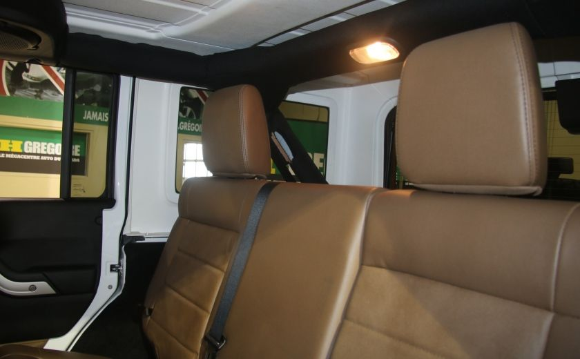 2012 Jeep Wrangler Sahara 4WD AUTO A/C 2TOITS MAGS #12