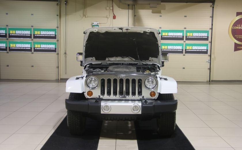 2012 Jeep Wrangler Sahara 4WD AUTO A/C 2TOITS CUIR #18