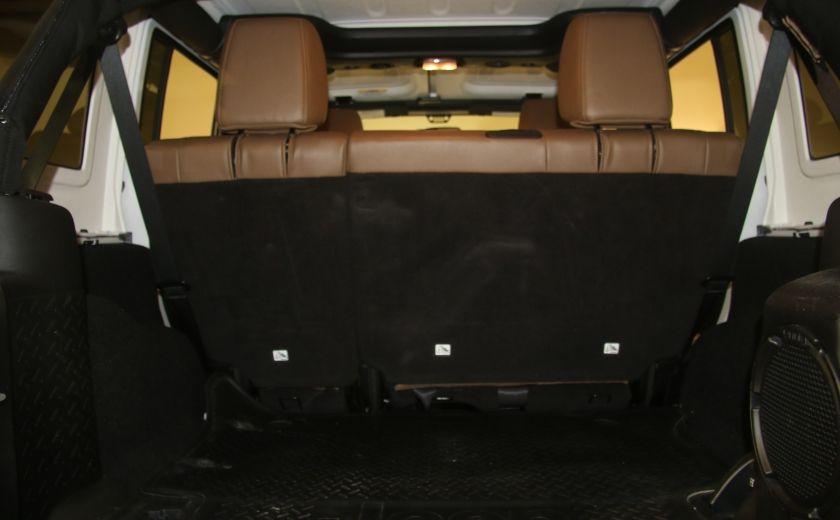 2012 Jeep Wrangler Sahara 4WD AUTO A/C 2TOITS CUIR #21