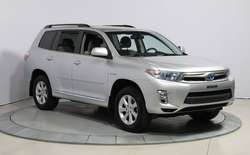 2013 Toyota Highlander 4WD AUTO A/C GR ELECT MAGS BLUETOOTH 7PASSAGERS #0
