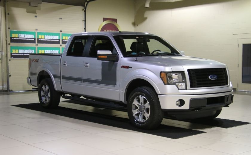 2012 Ford F150 FX4 4WD AUTO A/C CUIR MAGS BLUETOOTH #0