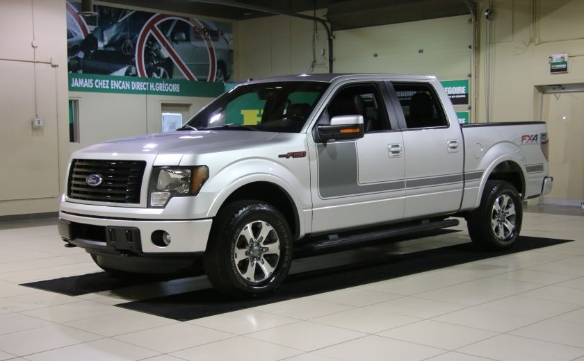 2012 Ford F150 FX4 4WD AUTO A/C CUIR MAGS BLUETOOTH #2