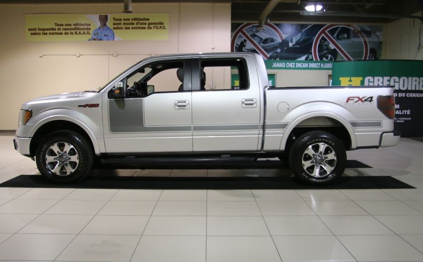 2012 Ford F150 FX4 4WD AUTO A/C CUIR MAGS BLUETOOTH #3
