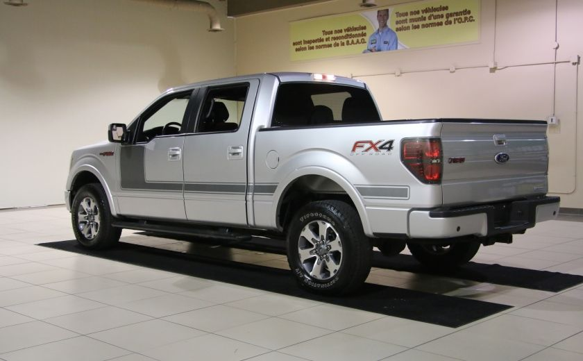 2012 Ford F150 FX4 4WD AUTO A/C CUIR MAGS BLUETOOTH #4