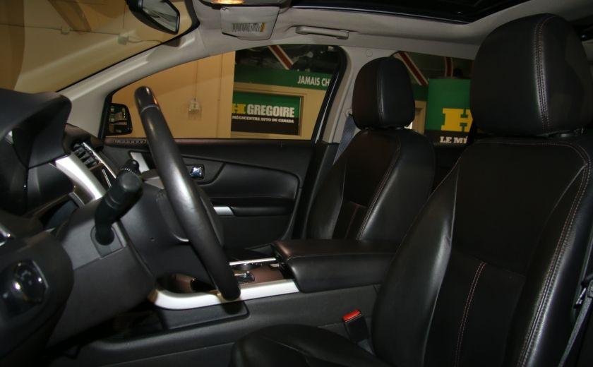 2013 Ford EDGE SEL AUTO A/C CUIR TOIT MAGS #8