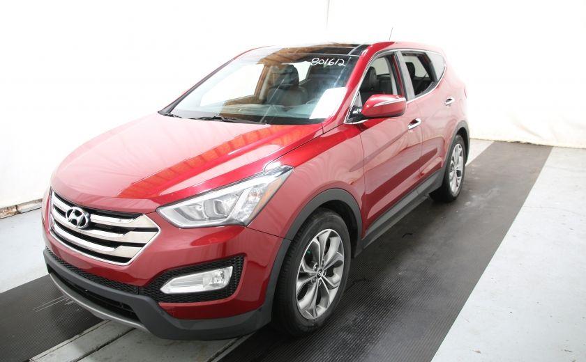2013 Hyundai Santa Fe SE 2.0 TURBO AWD CUIR TOIT PANO #2