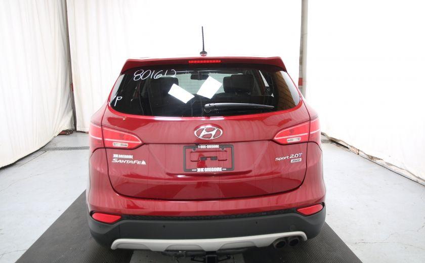 2013 Hyundai Santa Fe SE 2.0 TURBO AWD CUIR TOIT PANO #4