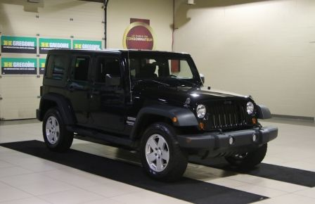 2012 Jeep Wrangler Sport 4WD 2TOITS MAGS in Rimouski