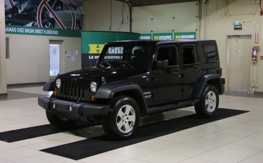 2012 Jeep Wrangler Sport 4WD 2TOITS MAGS #2