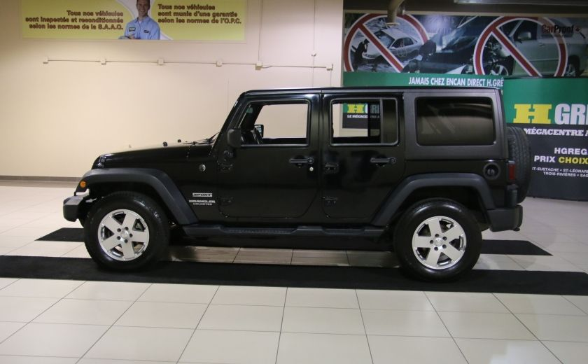 2012 Jeep Wrangler Sport 4WD 2TOITS MAGS #3