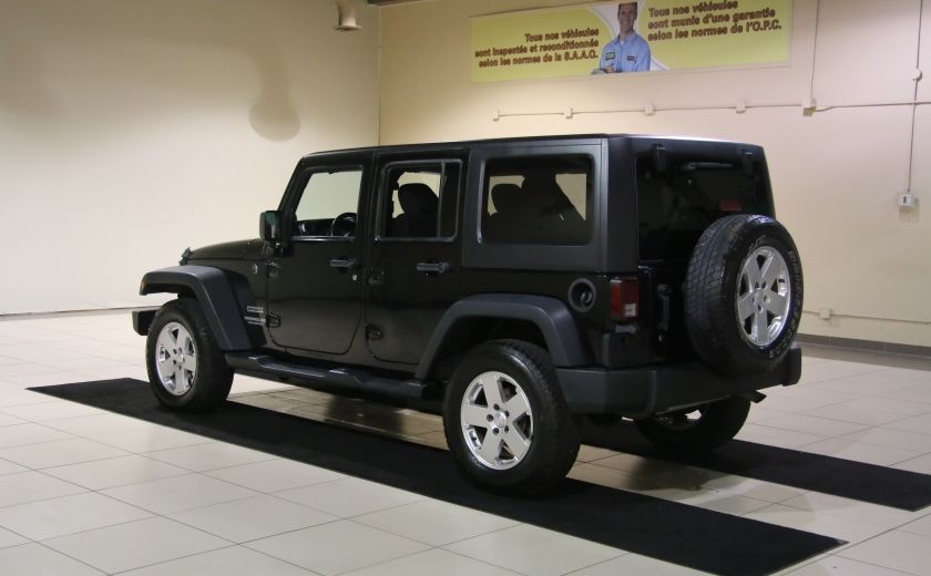 2012 Jeep Wrangler Sport 4WD 2TOITS MAGS #4