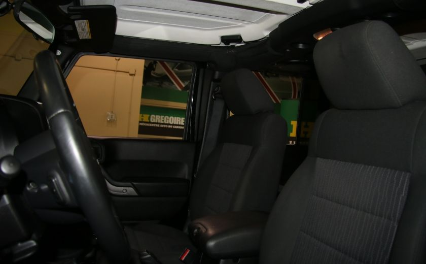 2012 Jeep Wrangler Sport 4WD 2TOITS MAGS #9