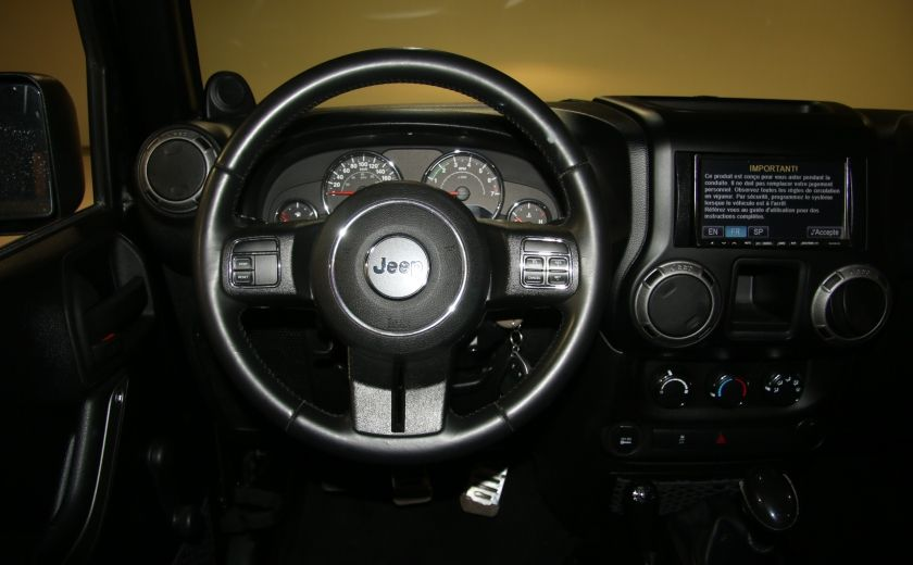 2012 Jeep Wrangler Sport 4WD 2TOITS MAGS #11