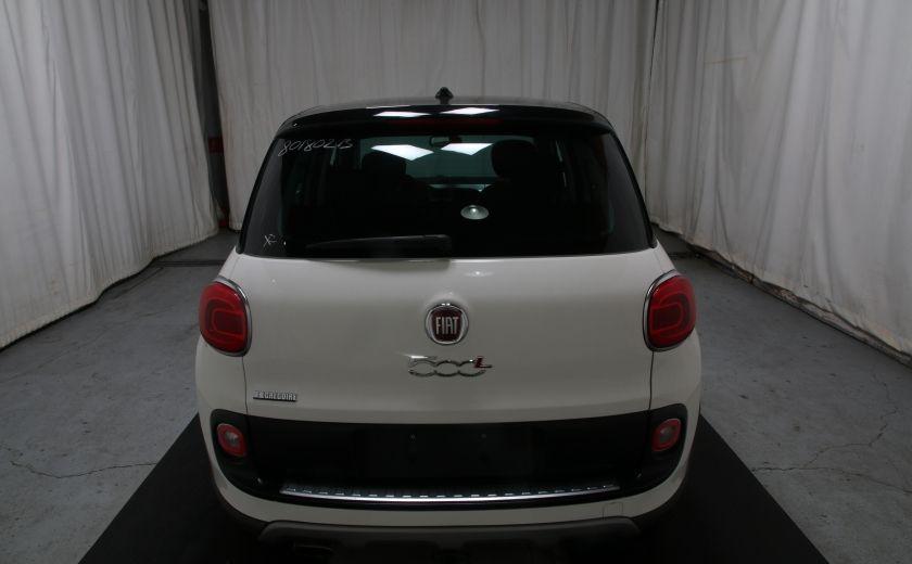 2014 Fiat 500L Trekking TOIT PANO #4