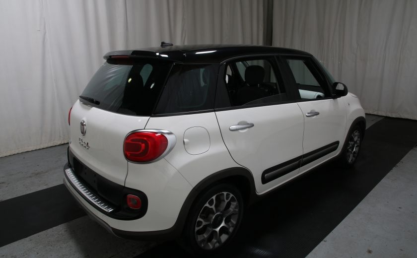 2014 Fiat 500L Trekking TOIT PANO #5