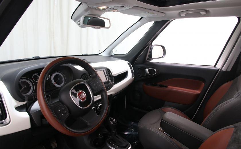 2014 Fiat 500L Trekking TOIT PANO #9