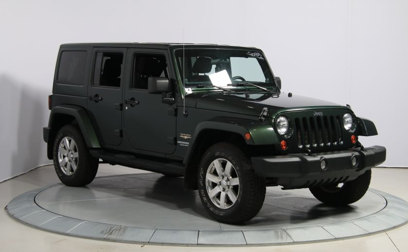 2012 Jeep Wrangler Sahara 4WD A/C GR ELECT 2TOITS MAGS #0