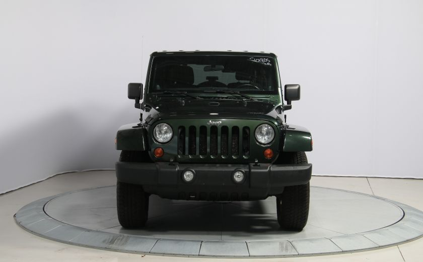 2012 Jeep Wrangler Sahara 4WD A/C GR ELECT 2TOITS MAGS #1