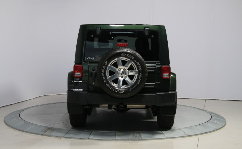 2012 Jeep Wrangler Sahara 4WD A/C GR ELECT 2TOITS MAGS #5