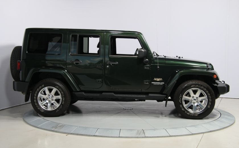 2012 Jeep Wrangler Sahara 4WD A/C GR ELECT 2TOITS MAGS #7