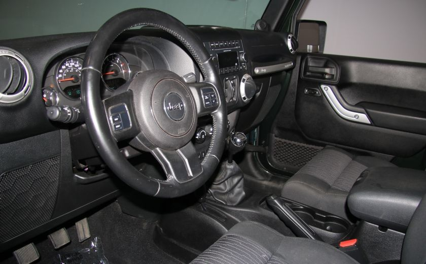 2012 Jeep Wrangler Sahara 4WD A/C GR ELECT 2TOITS MAGS #8