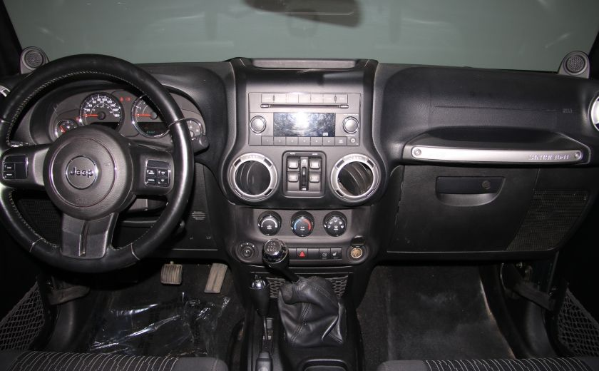 2012 Jeep Wrangler Sahara 4WD A/C GR ELECT 2TOITS MAGS #11