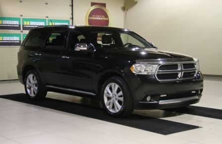 2013 Dodge Durango CREW AWD CUIR TOIT NAV DVD 7 PASSAGERS in Sept-Îles