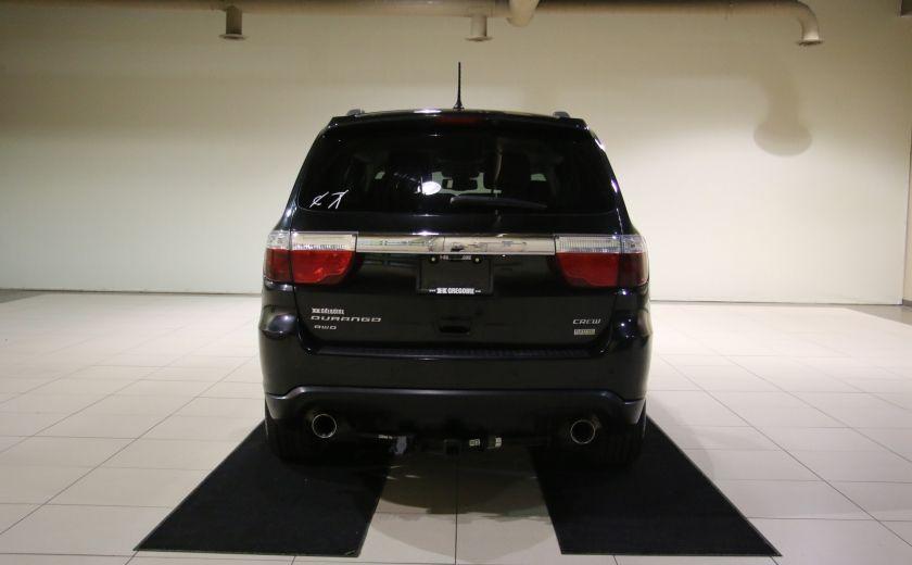 2013 Dodge Durango CREW AWD CUIR TOIT NAV DVD 7 PASSAGERS #5