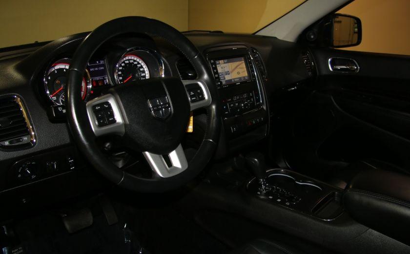 2013 Dodge Durango CREW AWD CUIR TOIT NAV DVD 7 PASSAGERS #8