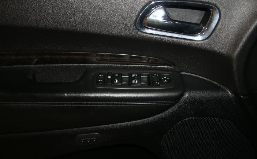 2013 Dodge Durango CREW AWD CUIR TOIT NAV DVD 7 PASSAGERS #10