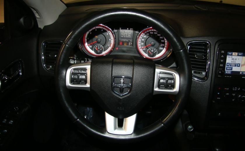 2013 Dodge Durango CREW AWD CUIR TOIT NAV DVD 7 PASSAGERS #15