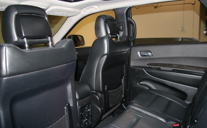 2013 Dodge Durango CREW AWD CUIR TOIT NAV DVD 7 PASSAGERS #26