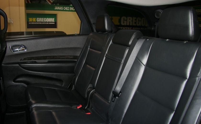 2013 Dodge Durango CREW AWD CUIR TOIT NAV DVD 7 PASSAGERS #27