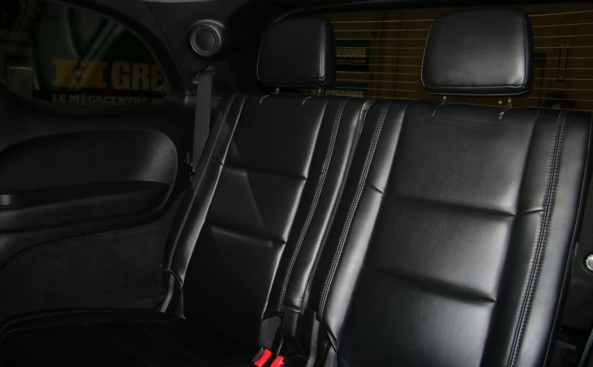 2013 Dodge Durango CREW AWD CUIR TOIT NAV DVD 7 PASSAGERS #28