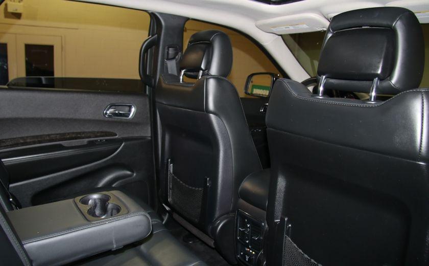 2013 Dodge Durango CREW AWD CUIR TOIT NAV DVD 7 PASSAGERS #30