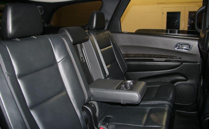 2013 Dodge Durango CREW AWD CUIR TOIT NAV DVD 7 PASSAGERS #31