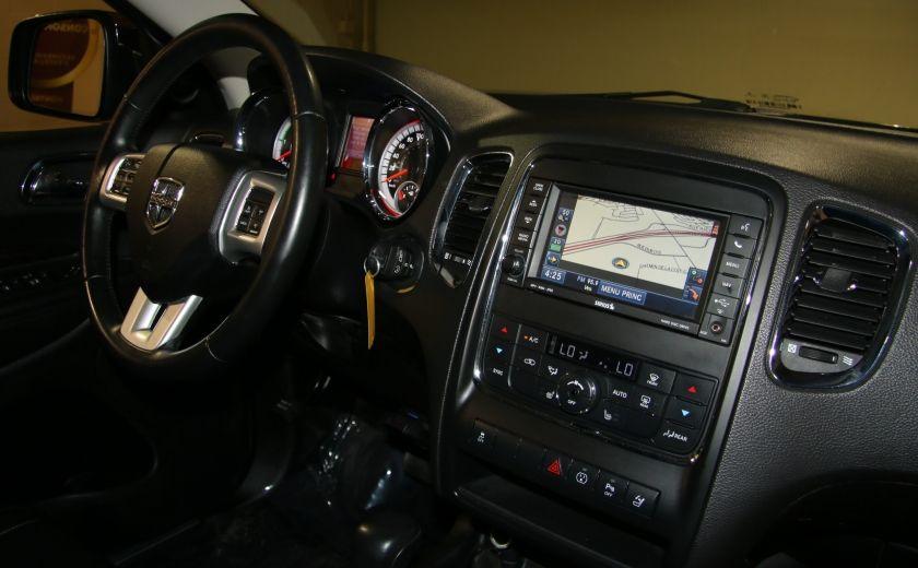 2013 Dodge Durango CREW AWD CUIR TOIT NAV DVD 7 PASSAGERS #33