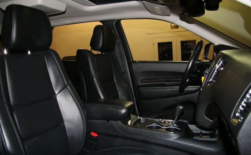 2013 Dodge Durango CREW AWD CUIR TOIT NAV DVD 7 PASSAGERS #34