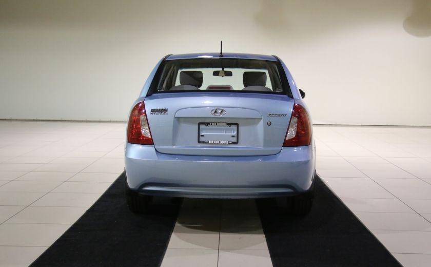 2009 Hyundai Accent Man GL A/C #5